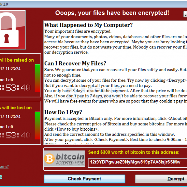 WannaCry Ransomeware Uses NSA Exploits To Go On Rampage